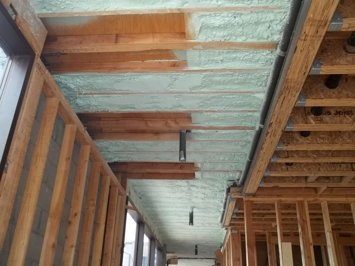 Residential Spray Foam Insulation Cool Roof Systems